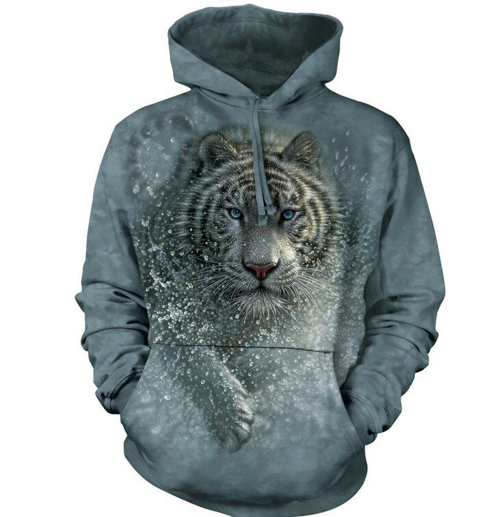 Sweatshirt mit Kapuze Nasser Tiger