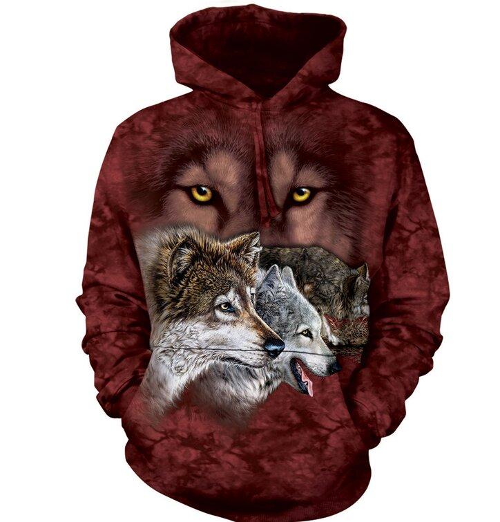 Hoodie Hunting Wolves