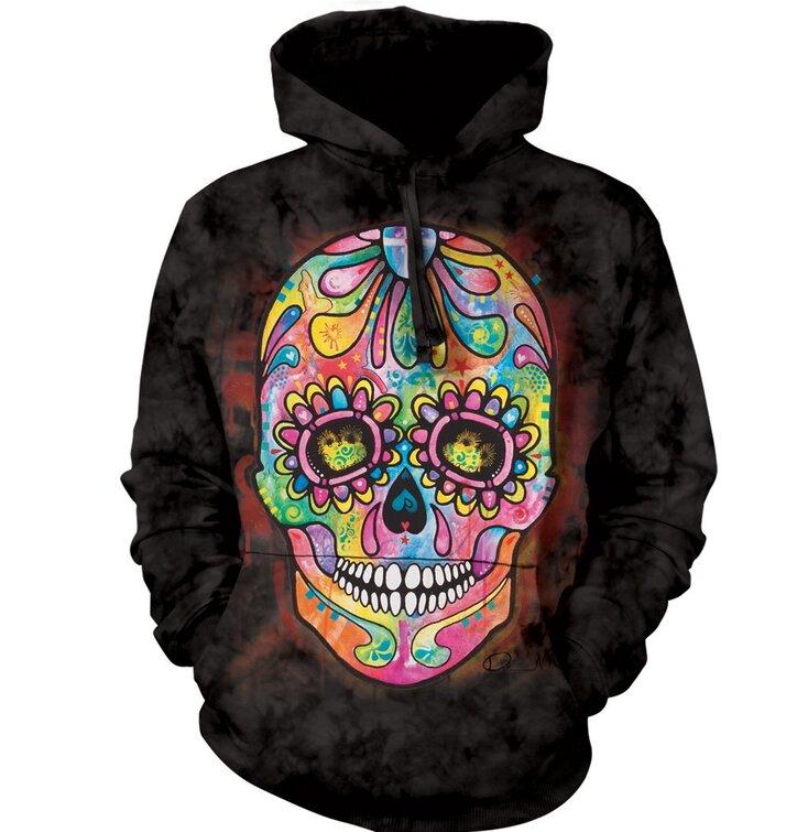Hoodie Russo Skull