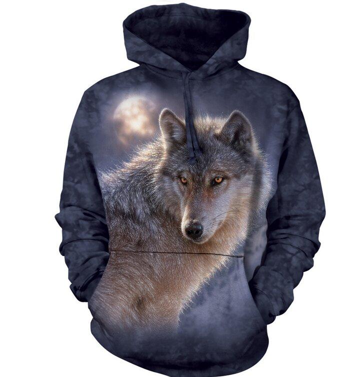 Adventure Wolf Wolves Hoodie