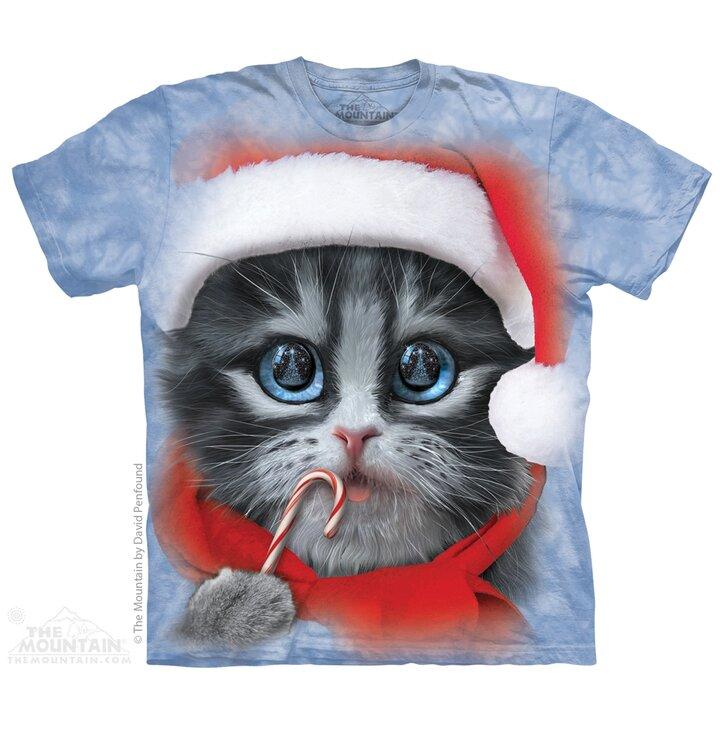Tričko Vianočné mačiatko - detské