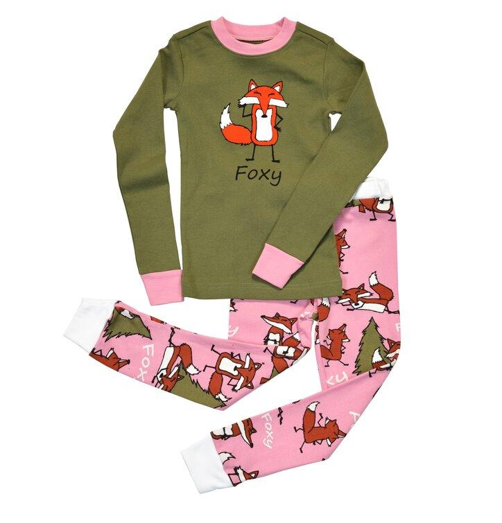 Detské Dvojdielne Pyžamo Líška