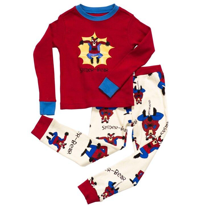 Detské Dvojdielne Pyžamo Medvedí Spiderman