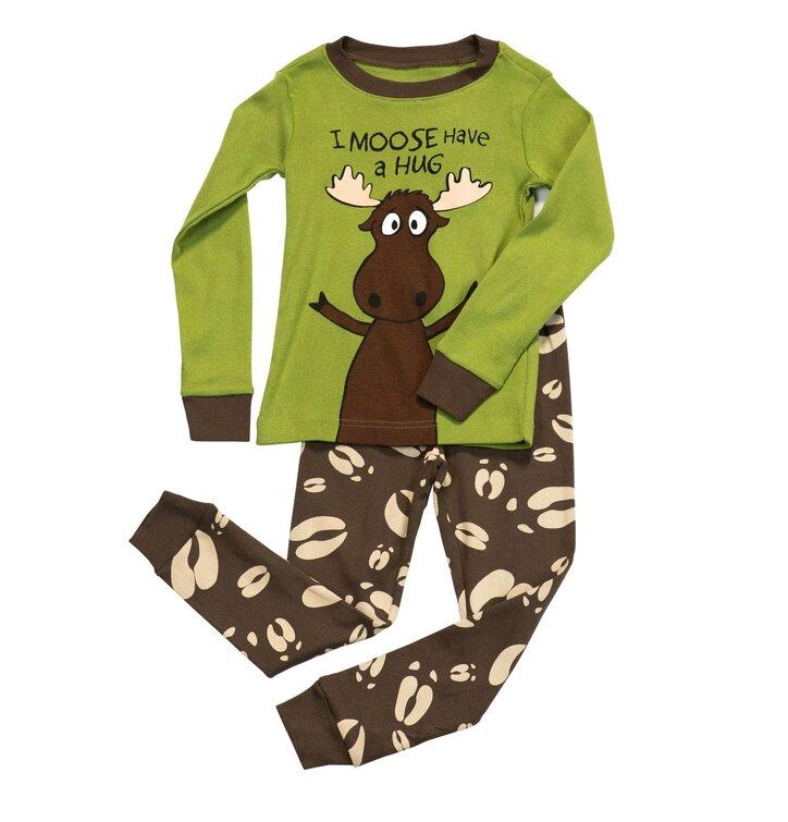 Detské Dvojdielne Pyžamo Objatie Losa – Chlapčenské