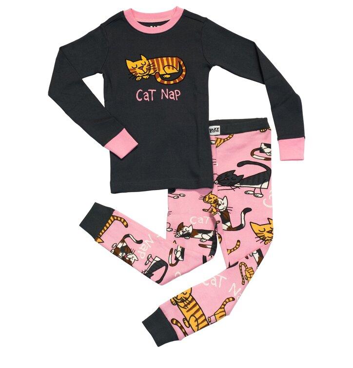 b86a23716a2a Výnimočný darček od Dedoles Detské Dvojdielne Pyžamo Spinkajúca Mačička –  Dievčenské