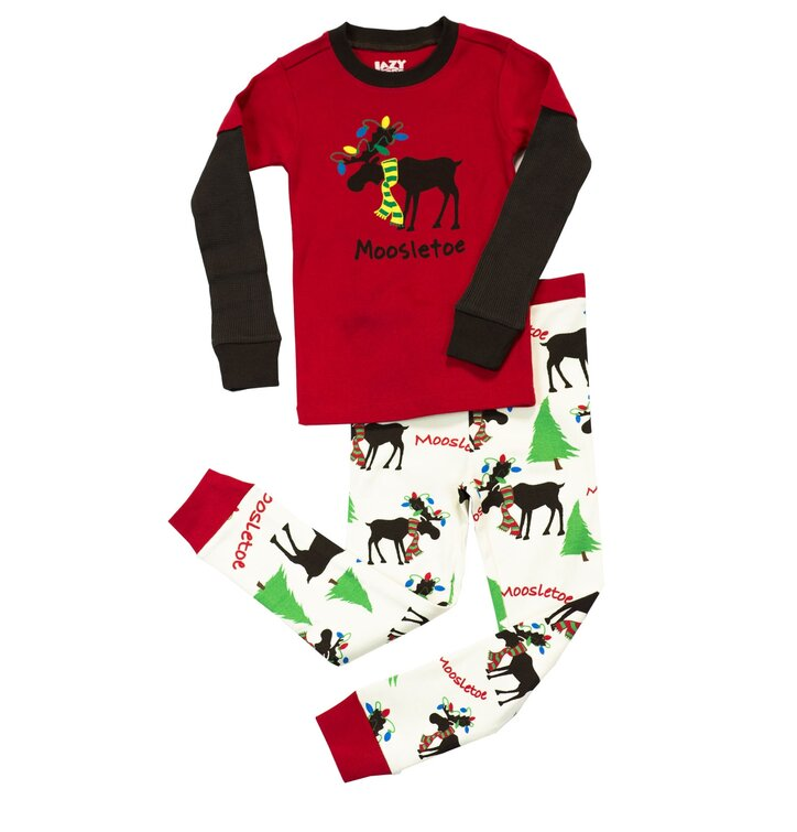 0f17d2367c2c Hľadáte originálny a nezvyčajný darček  Obdarovaného zaručene prekvapí  Detské Dvojdielne Pyžamo Vianočný Sobík