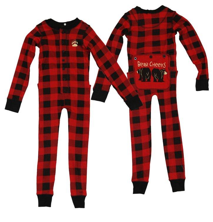 Kedvezmény Egyrészes Gyermek Pizsama- Medve Mama - Gyermek 02eb05075a