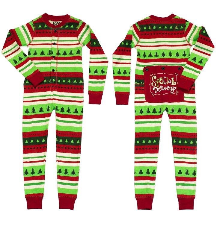Ajándék tipp Egyrészes Gyermek Pizsama-Karácsonyi Kényelem- Gyermek c4768cb71f