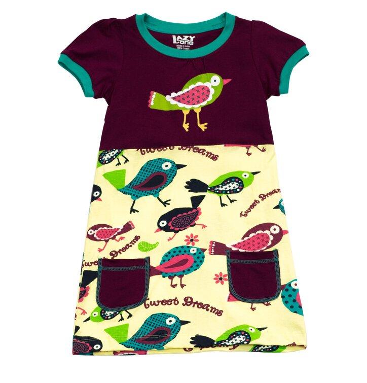 Detské Šaty Vtáčik Tweet