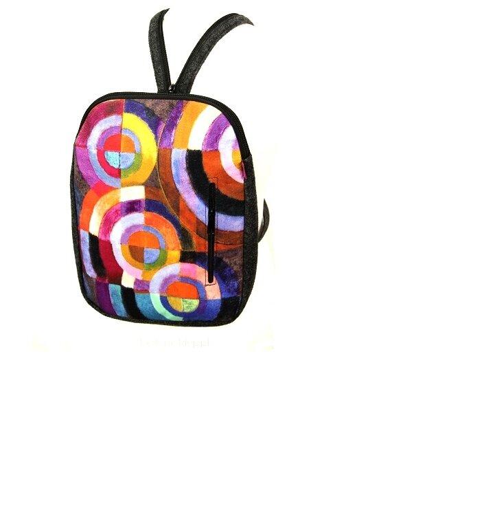 Dizajnový ruksak - Kruhy