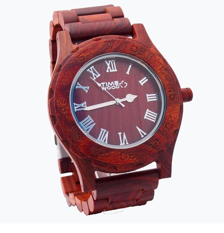 Fából készült Becrux óra