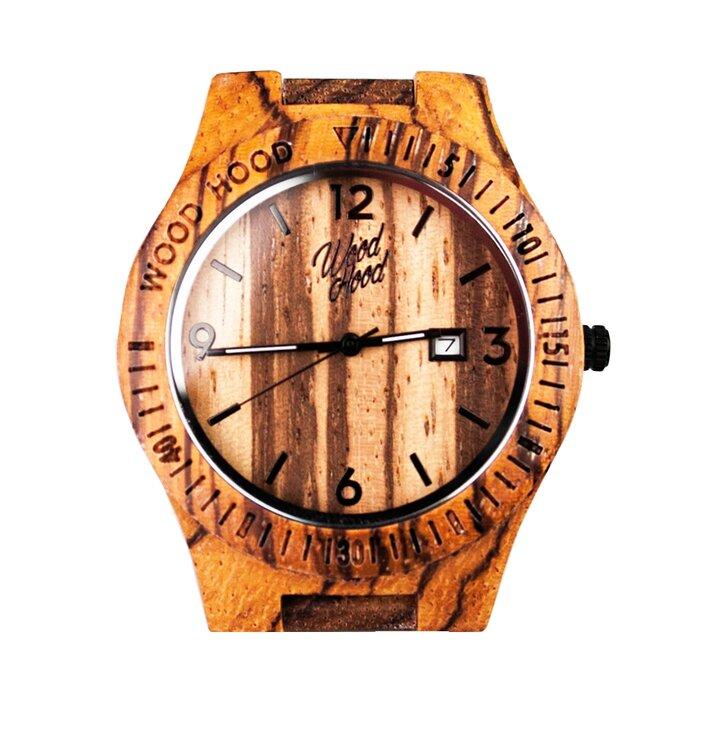 b2e567ecd36 Výnimočný darček od Dedoles Drevené hodinky TigerHood