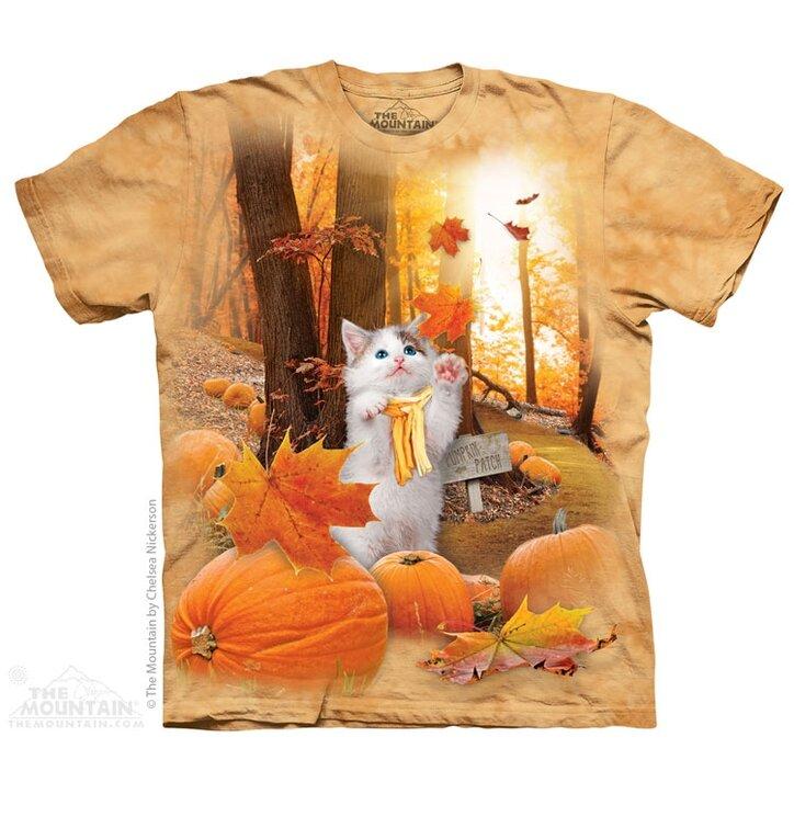 Tričko Podzimní kotě deti