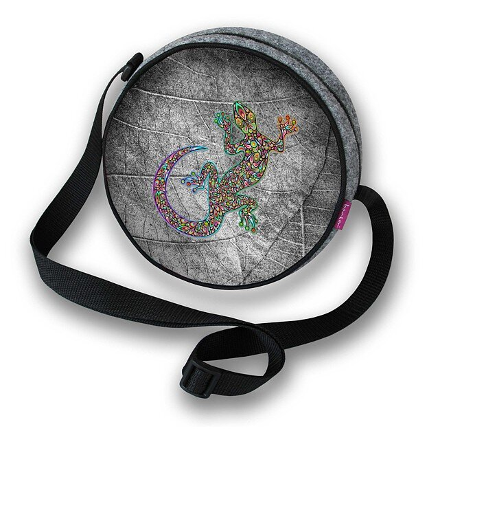 Guľatá kabelka Twist - Salamander
