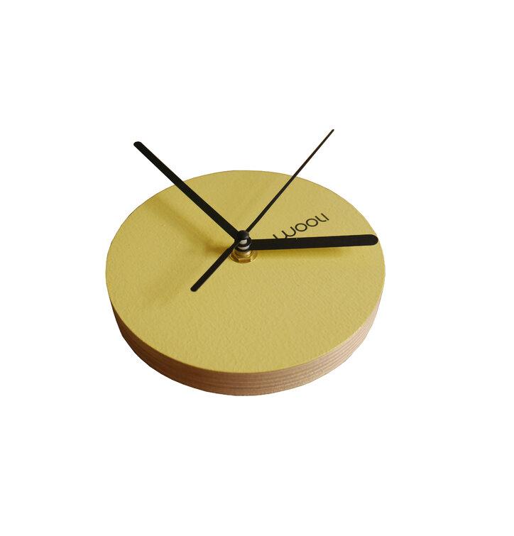 Wall Clock Kloki XS - yellow