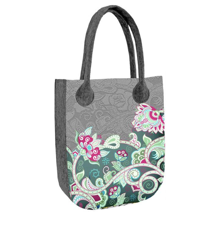 Schulter Handtasche City - Kaschmir