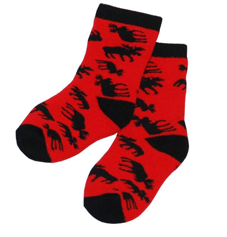 Losíky- Červené Ponožky - Batole