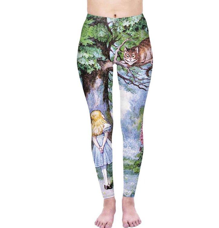 Damen Leggings elastisch Wunderland