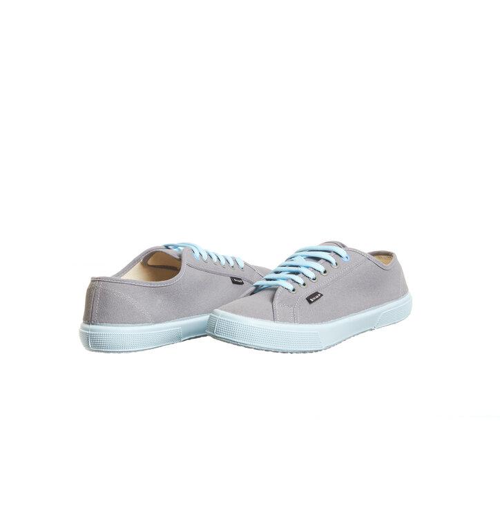 367e18200b78 Original gift Ladies  Canvas Hemp Trainers grey and blue