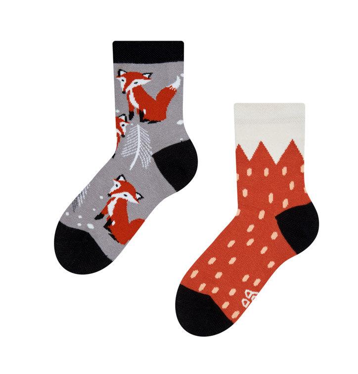 Detské veselé ponožky Líška
