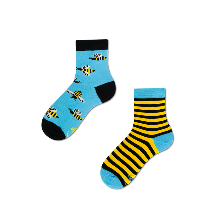 Gyermek vidám zokni Méhek
