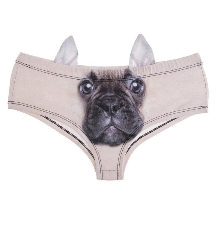 Damen Höschen Französische Bulldogge Dedoles