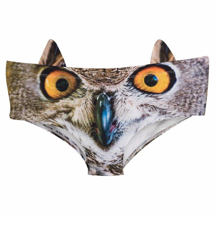 Dámske nohavičky Okatá sova