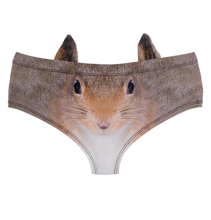 Dámske nohavičky Veselá veverička