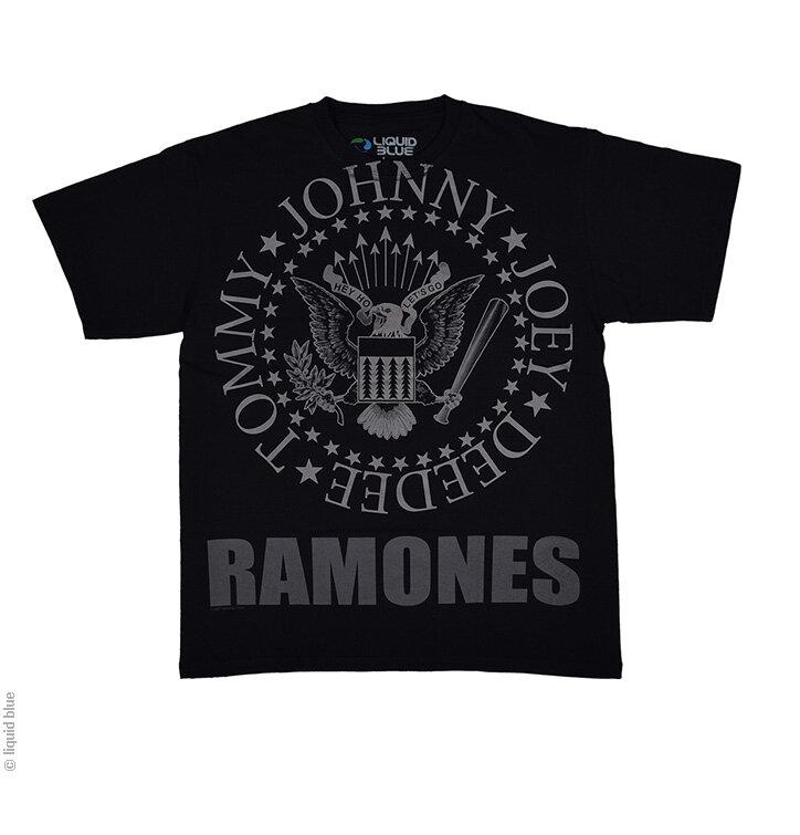 Ajándék tipp The Ramones fekete zene póló ad3cf9cdd3