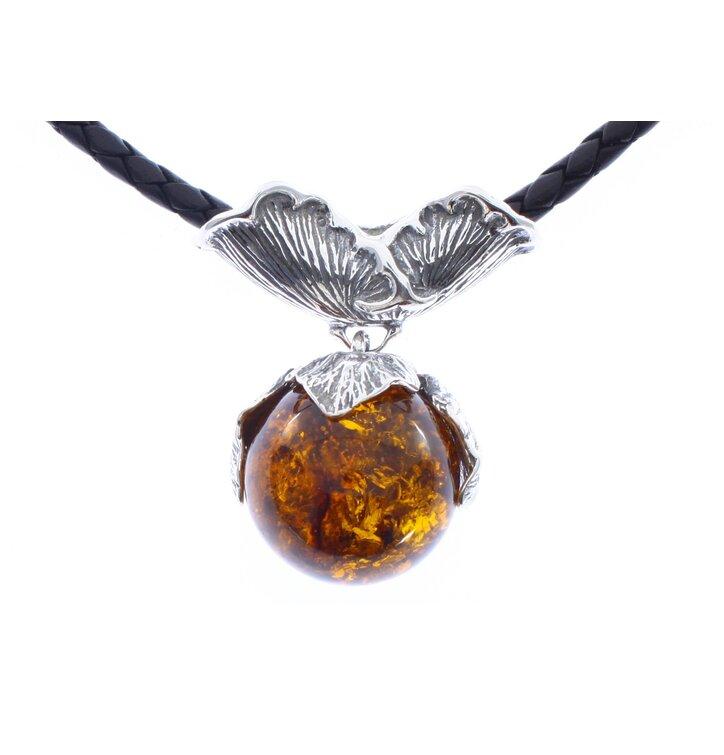 Jantárový náhrdelník Dar prírody