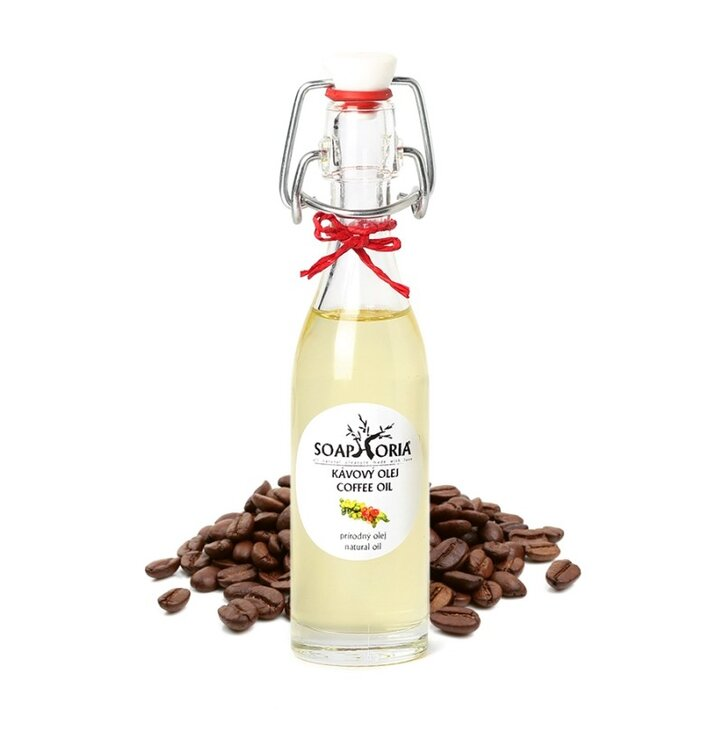 Kávový macerát v 100% panenskom oleji z ekologického poľnohospodárstva