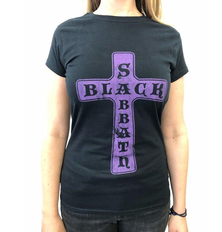 Dámské tričko Vintage Black Sabbath