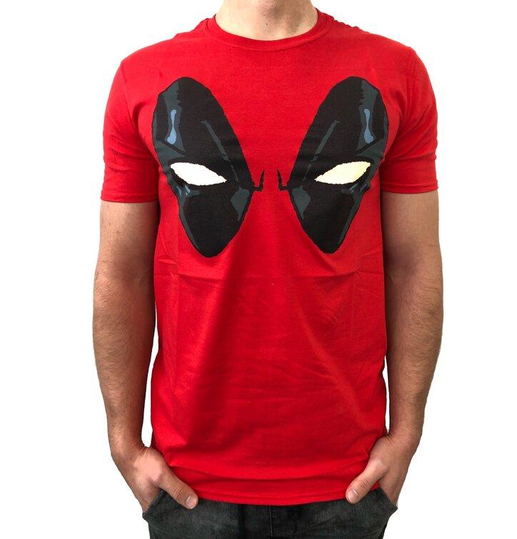 Tričko Deadpool Eyes Red