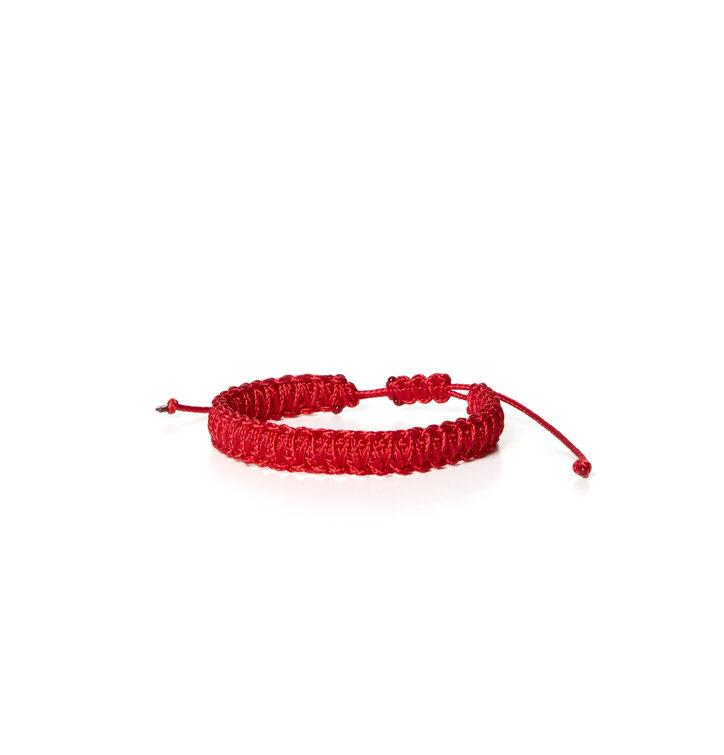 Microcord náramok King Cobra červeny