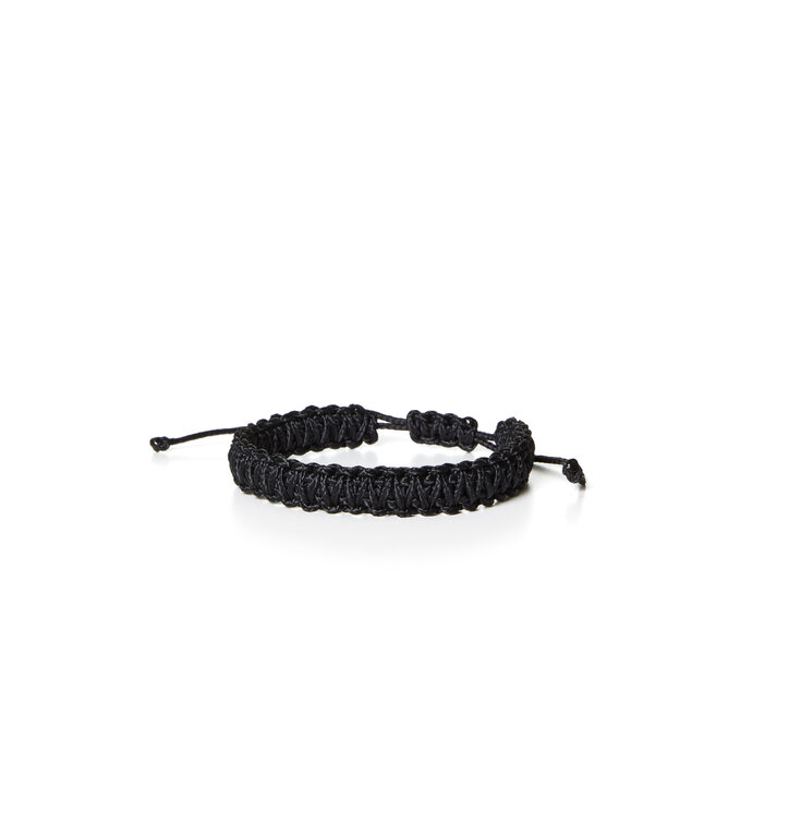 Microcord Armband King Cobra schwarz