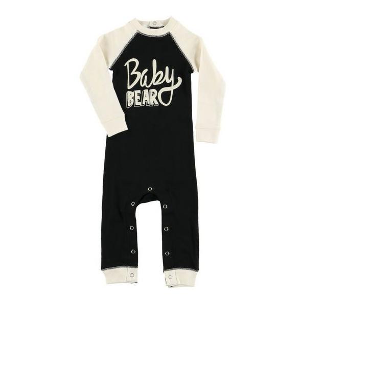 f0c7acf9e8 a tökéletes és egyedi ruházathoz Csecsemő pizsama overál Medvebocs