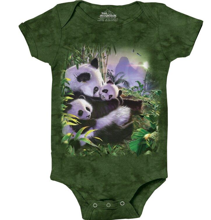 Gyermek body Panda család