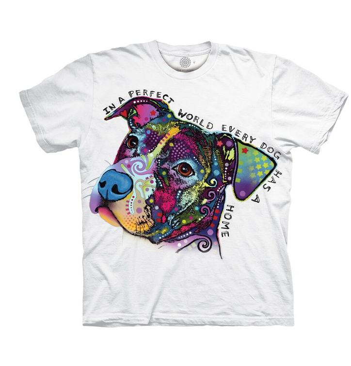 Biele tričko Russo Dokonalý svet pre psy