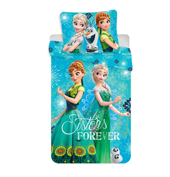 Povlečení Frozen sestry - Anna a Elza