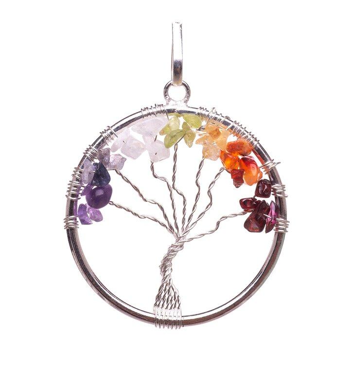Prívesok Čakra strom života