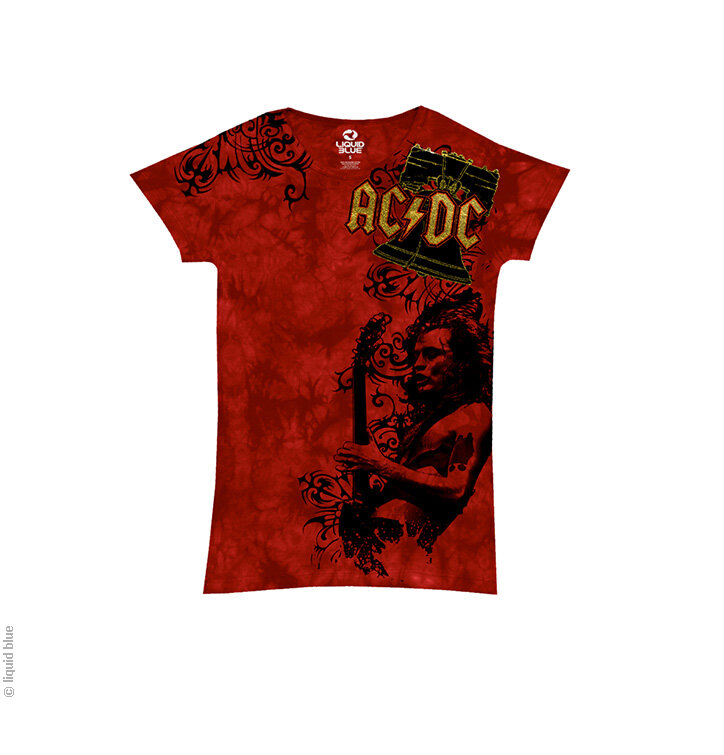 a tökéletes és egyedi ruházathoz AC DC Problem child Piros női zenés póló 7f2909c0eb