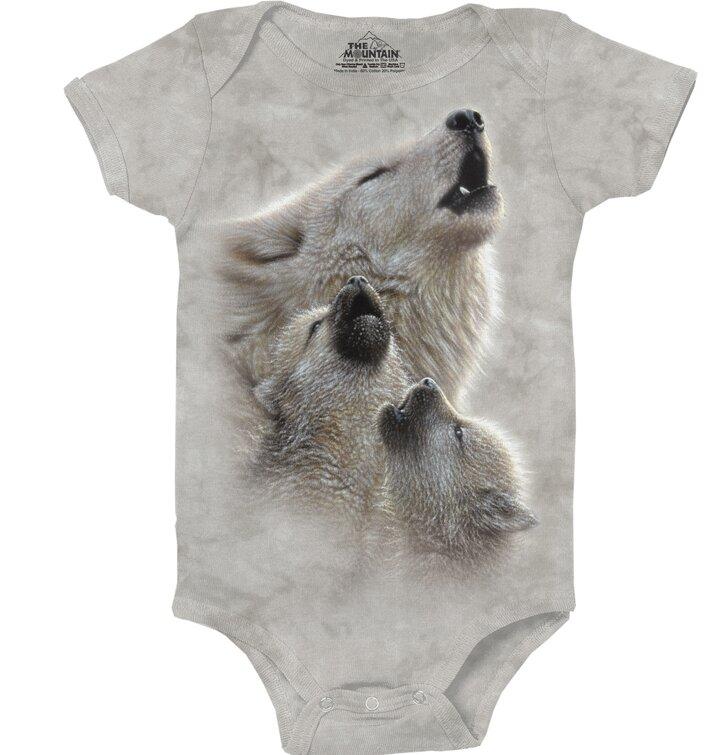 Dětské body Zpěv vlků