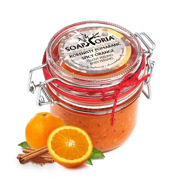 Telový peeling Korenistý pomaranč