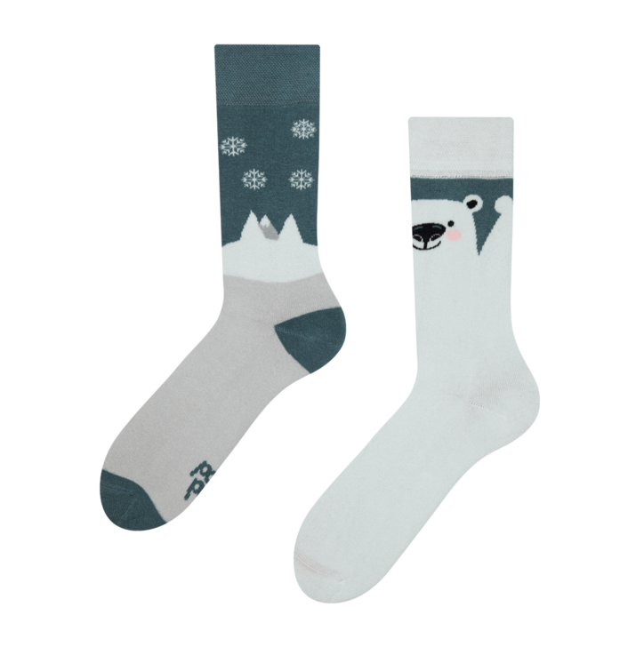 Warm Socks Polar Bear