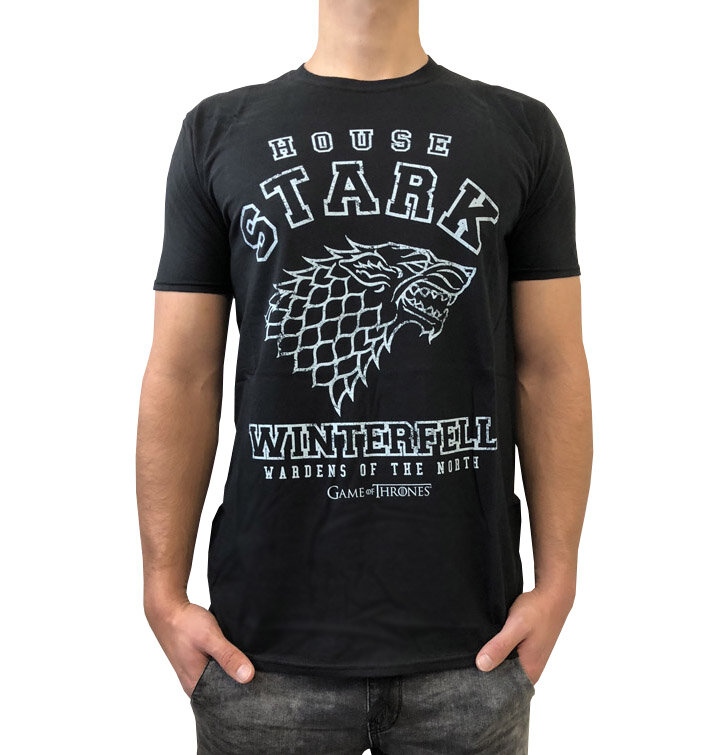 t shirt game of thrones house stark dedoles. Black Bedroom Furniture Sets. Home Design Ideas