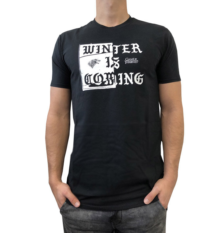 t shirt game of thrones winter si coming dedoles. Black Bedroom Furniture Sets. Home Design Ideas