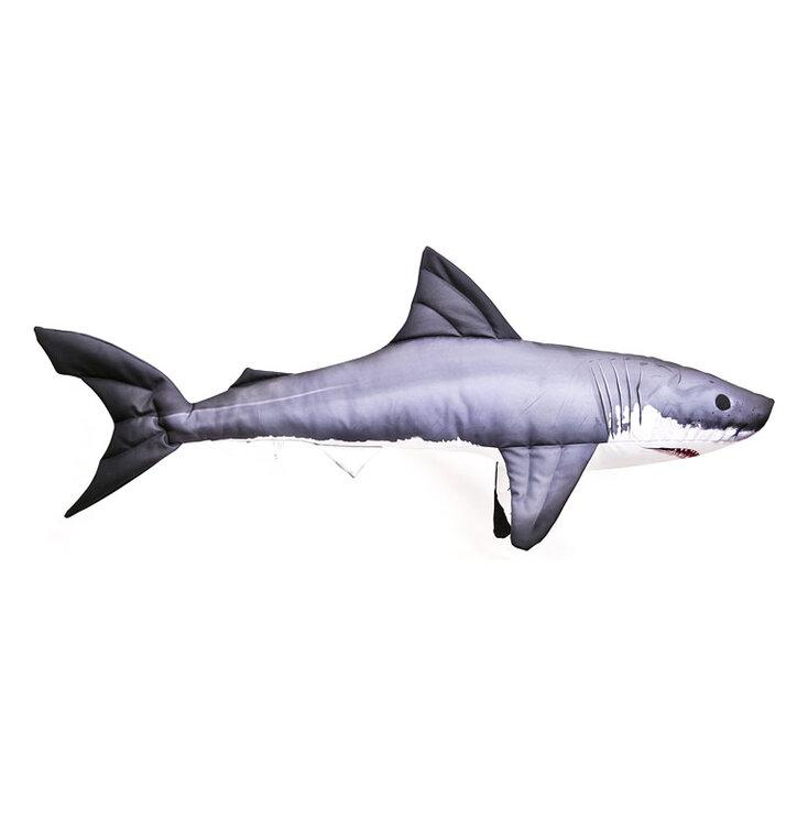 Polštář Žralok modrý - 53 cm