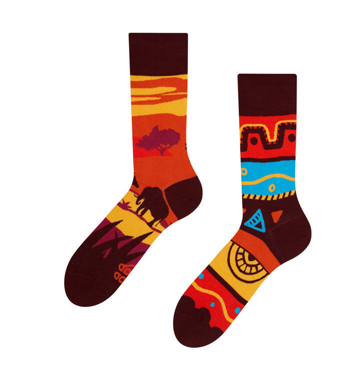 Veselé ponožky Afrika