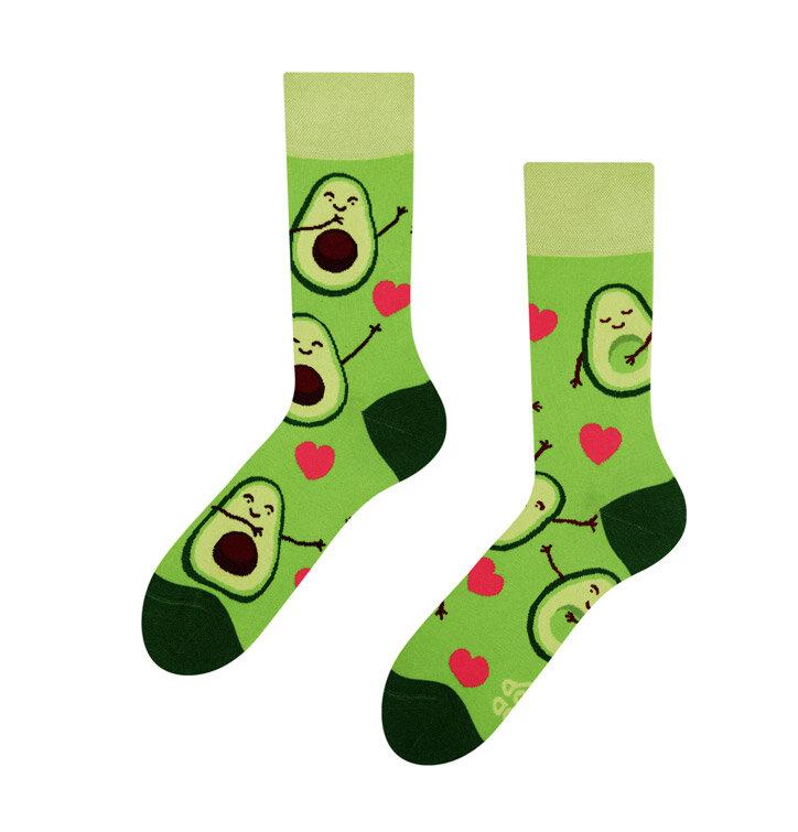 Lustige Socken Avocado-Liebe