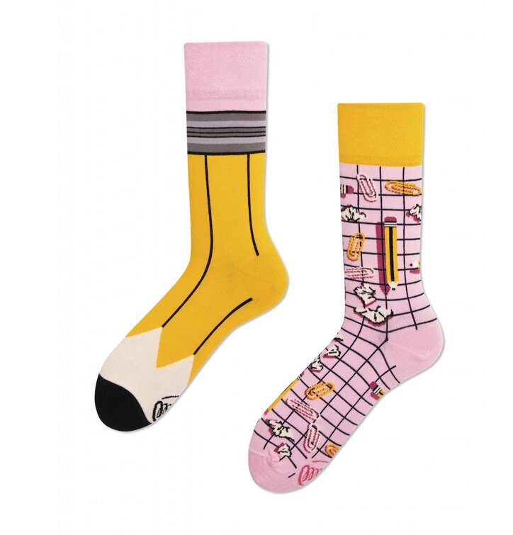 Lustige Socken Bleistift